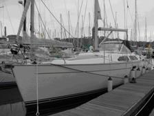 Picture of Yacht surveyed by Jonathan Graham Marine Surveys Millbrook Cornwall